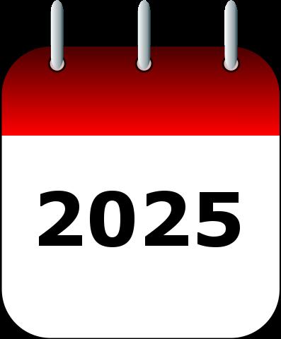 Calendario festivos 2025
