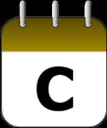 Calendario con celebraciones
